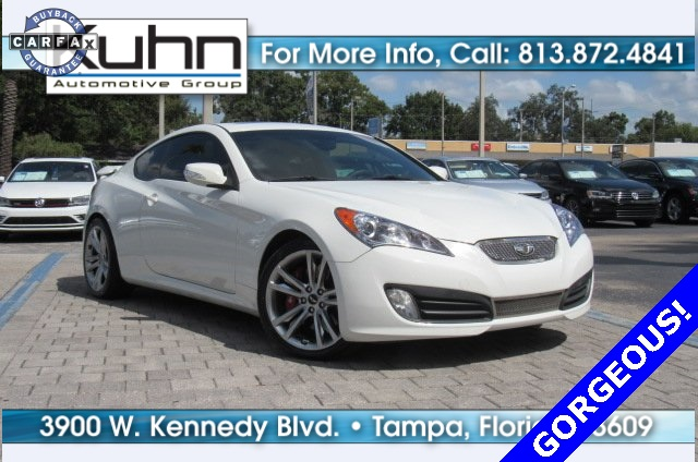 Pre Owned 2011 Hyundai Genesis Coupe 3.8 R Spec
